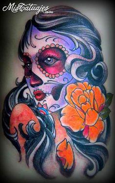 1000 images about catrinas on pinterest dia de la for Tattoo school edmonton