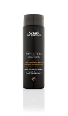 Invati Men Nourishing Exfoliating Shampoo is step one in the Invati Men routine. Exfoliate your scalp and condition your hair in one easy step.