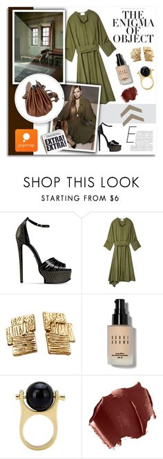 """Popmap 23"" by melissa-de-souza ❤ liked on Polyvore featuring Enigma, Roberto Cavalli, 3.1 Phillip Lim, Bobbi Brown Cosmetics, November, women's clothing, women, female, woman and misses"