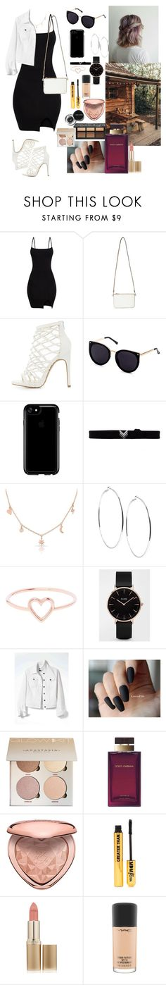 """""""Untitled #53"""" by sofia2910 ❤ liked on Polyvore featuring Miss Selfridge, Charlotte Russe, Speck, EF Collection, Anne Sisteron, GUESS, Love Is, CLUSE, Banana Republic and Bobbi Brown Cosmetics"""