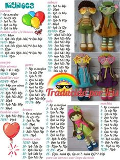 Crochet pattern Doll in owl hat Cute doll Amigurumi toy Doll making PDF file - Salvabrani This Pin was discovered by Koo Page 1 sur Rock häkeln / Amigurumi video for crocheting this lovely skirt- it's just darling - SalvabraniAmigurumi dol Diy Crafts Crochet, Crochet Toys, Crochet Baby, Free Crochet, Crochet Dolls Free Patterns, Crochet Doll Pattern, Amigurumi Patterns, Patron Crochet, Crochet Keychain
