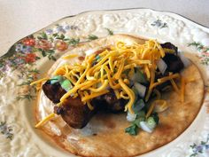 Awesome tacos: Asian flavors come in and make a delicious Mexican dish even MORE delicious. These are my big sister's specialty. TRY THEM!!!!