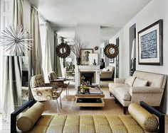 1000 Images About Vintage Glam Living Room On Pinterest