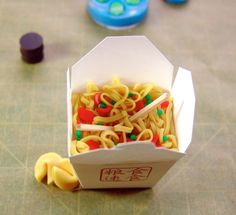 polymer clay chinese food
