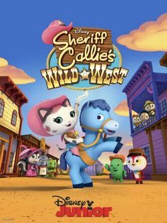 For those who like the Western, Wild Wild West Theme, now we have the very first Western series for preschoolers airing in Disney Junior. This brand new series made it debuts on Disney Junior (AST. Disney Junior, Disney Jr, Disney Movies, Disney Channel, Sheriff Callie's Wild West, Sheriff Callie Birthday, Party Items, Call Me, 2nd Birthday