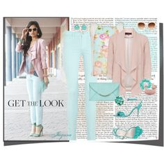 """""""""""Get The Look In Soft Pastels'"""" by ladyjaynne on Polyvore"""