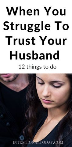 It's heartbreaking to discover that the person you gave your heart to betrayed your trust. So what do you do when you feel like you can't trust your husband? 12 practical ways to approach broken trust (or suspicion of) in marriage Communication In Marriage, Intimacy In Marriage, Marriage Relationship, Happy Marriage, Marriage Advice, Love And Marriage, Newlywed Advice, Advice For Newlyweds, Rebuilding Trust