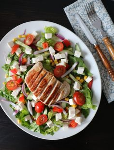 Salat med svin