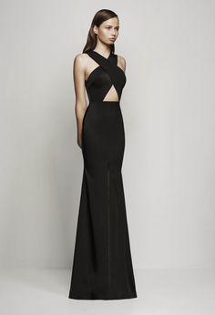 "runwayandbeauty: "" Elegance in Black & White: Alex Perry Resort 2016. """