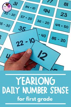 Teaching number sense to your 1st graders can be fun! This bundle includes a ton of no prep activities that are perfect for math centers/stations, earlier finishers, or even for morning work! This bundle is over 450 pages of printables, games, and engaging activities and focuses on CCSS.1.NBT.C.6, CCSS.1.NBT.C.5, CCSS.1.NBT.C.4, CCSS.1.NBT.B.3, and CCSS.1.NBT.B.2c standards. Purchase this bundle today! Primary Maths Games, Number Sense Activities, Math Games For Kids, Fun Math Activities, Math Rotations, Math Centers, First Grade Math, Second Grade, Daily Number