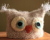 Just finished this little guy...I love him.  It's a Hoot knit infant hat.  $23 Great for photoprop!