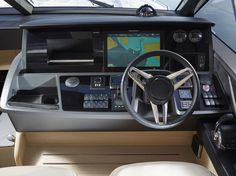 At the helm of the Princess sports yacht Princess Yachts, Sport Yacht, Luxury Yachts, Plymouth, Sports, Crafts, Hs Sports, Manualidades, Handmade Crafts