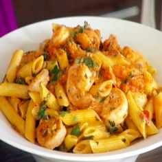 Shrimp and Pasta Recipe Enjoy this Recipe using our Pasta Bowls in our Sophie Conran Collection at Pure Home Design!