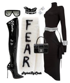 A fashion look from October 2016 featuring bodycon dresses, platform boots and man bag. Browse and shop related looks. Kpop Outfits, Edgy Outfits, Latest Outfits, Fashion Outfits, Fashion Trends, Fashion Killa, Look Fashion, Star Fashion, Womens Fashion