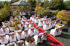 Outdoor Weddings at our Gazebo @ Ashdown Park Hotel