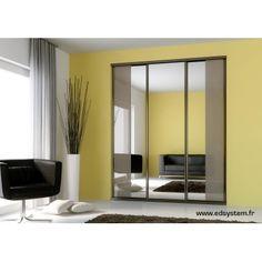 Ber ideen zu porte coulissante miroir auf for Porte miroir sur mesure