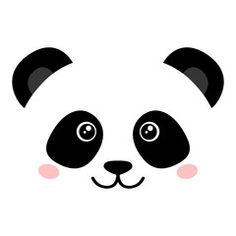 We have a 'Panda' theme in our collection with postcards, canvasprints… Great pretty wallpapers - pix wallpapers Panda Birthday Party, Panda Party, Bear Party, Birthday Cartoon, Cake Birthday, Cute Panda Cartoon, Baby Cartoon, Baby Face Drawing, Panda Mignon