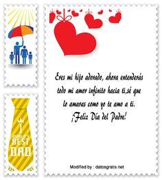 descargar frases bonitas para el dia del Padre,descargar mensajes para el dia del Padre : http://www.datosgratis.net/mensajes-por-el-dia-del-padre-para-papa-primerizo/
