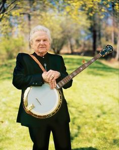 My favorite music - there's not much that beats Ralph Stanley's Memorial Day music festival at the Hills of Home
