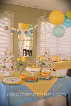 sunshine birthday party | Patita: You Are My Sunshine Birthday Party From Casa com Amor