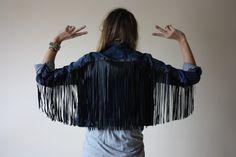 """CHAQUETA FLECOS CUERO - MARTIDAMAinStyle. Consejos sobre moda, belleza y últimas tendencias a precios de """"Low Cost"""""""