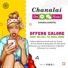 Offers galore… 🤩🎉                       Chat or call to avail more!     - -  - - - - - - - - - - - - - - - - - - - - - - - - - - - - ✉️Email: reservations@chanalai.com 📲Line ID: ChanalaiHotel (FREE CALL ON LINE) 📞WhatsApp: 0622423738 (FREE CALL ON WHATSAPP) 📞WeChat: CHANALAIHOTEL  * Terms & Condition Apply  #WhatsApp #WhatsAppApplication #ExtraBenefits #FreeCall #Chat #ChatwithUs #GoodBenefits #BookDirect #FreeUpgrade #FreeEarlyCheckIn #FreeLateCheckOut #2CansOfBeer… Goods And Service Tax, Goods And Services, Kata Beach Phuket, Food Promotion, Dinner For 2, Welcome Drink, Romantic Honeymoon, Drink Specials