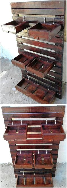 Creative and Easy Pallet Reusing DIY Ideas | DIY with Pallets: ideas for Wood Pallet Furniture Plans and Projects.