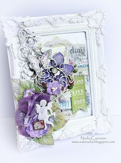 Altered frame *Scraps Of Elegance April Kit * - Scrapbook.com