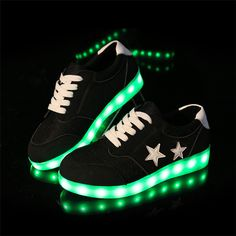 d4444acbb61 8 Colors Big Size Women men Led Shoes Couples Glowing Flats For Girls  Casual Walking usb Unsex Fashion Sneakers 2016