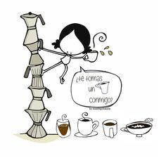 Qué, ¿te tomas uno conmigo? (o dos...) Eeeegunon mundo!! (o tres... o cuatro) ::: hartuko al duzu bat nirekin? Hartuko al dugu tartea elkarrekin? Just a coffee? Just with me? :::