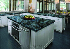 Superb white granite countertop bar for your cozy home