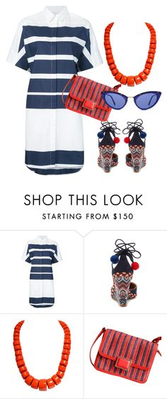 """""""Smooth Sailing"""" by engleann ❤ liked on Polyvore featuring 10 Crosby Derek Lam, Aquazzura, Marc by Marc Jacobs and Tom Ford"""