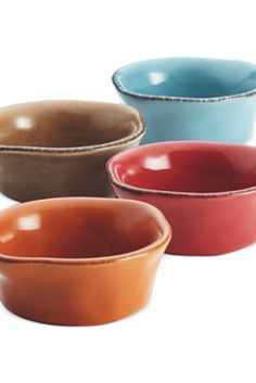 Standing out with rustic charm & rich handcrafted textures, this stoneware collection is perfect for serving up appetizers & condiments or keeping ingredients on hand during prep. The earthy glazed designs add a welcome note to any setup & move effortlessly from microwave to oven to freezer to dishwasher. | Rustic kitchen, Fixer Upper, Farmhouse Kitchen (affiliate)