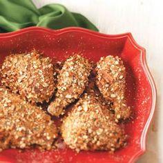 Pretzel chicken. can use with veggie chix