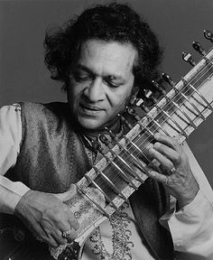 Ravi Shankar, 1977, by Francesco Scavullo - used to practice at Straight Theater in the Haight.