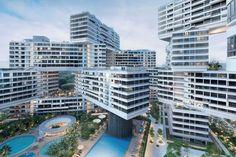 Edifício do Ano: The Interlace (Singapura) / OMA e Ole Scheeren. Imagem © Iwan Baan