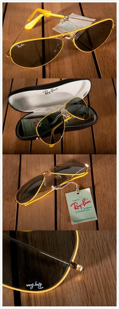 I LOVE this. I just bought Ray Ban Aviator RB3025 Sunglasses Black Frame Crystal Deep Green Lens ABD like that not long ago.