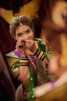 Beautiful Marathi Bride I wannabe her someday