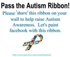 Help us spread autism awareness and support!