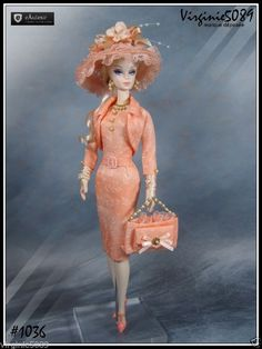 Tenue Outfit Accessoires Pour Barbie Silkstone Vintage Integrity Toys 1036   eBay