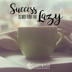 Success is not for the lazy. Wednesday Wisdom, How To Stay Motivated, School Fun, Monday Motivation, Lazy, Success, Learning, Teaching, Education