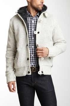 Premium Lounge Rib Trim Sweater