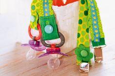 Näh-Quickie: Schnullerkette für Babys - Makerist Magazin