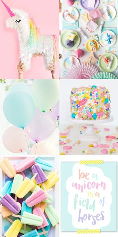 Throwing a Unicorn themed party? Here is some fun unicorn party inspiration to get you started!