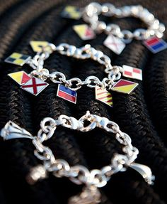 bracelets at 'style newport'  I love this for myself...