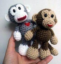 Little Monkey - free crochet pattern