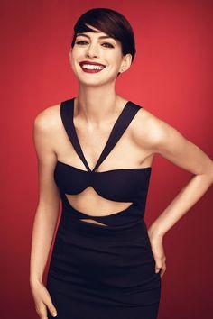 Anne Hathaway (Anne Hathaway), dans une séance photo Alexi Lubomirski (Alexi Lubomirski) pour le magazine Bazaar (Novembre 2014) de Stephen Harper Photo 6