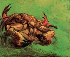 Vincent van Gogh – Crab on Its Back