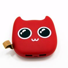 Devilish Kitty Universal Power Bank 10000 mAh Don't you just hate it when you run out of battery on your phone?  With this cute and compact devilish Kitty power bank you won't have to worry no more. Leave empty battery days behind and get yourself one of these cuties. With it you can charge your smartphone, iPhone or tablet while your on a go or, most importantly, in case of emergency.