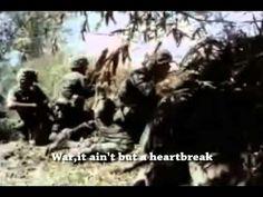 Edwin Starr - War (w/lyrics + Vietnam War footage) - YouTube